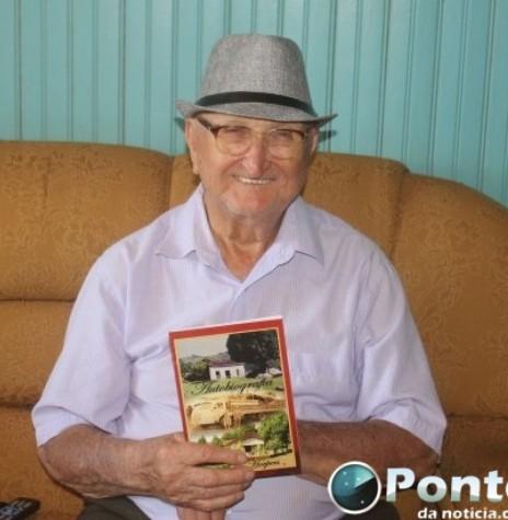 Pioneiro Aloísio Hoepers falecido em junho de 2019.  Imagem: Acervo Ponto da Notícia - FOTO 8 -
