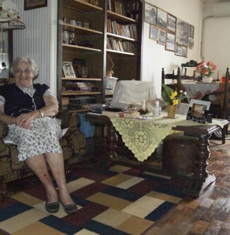 Pioneira Edith Anna Schmitz von Borstel falecida em janeiro de 2017.  Imagem: Acervo Memória Rondonense -  Crédito: Cristiano Viteck - FOTO 3 -