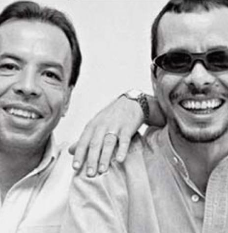 Dupla sertaneja Chrystian e Ralf que se apresentou em Marechal Cândido Rondon, em julho de 1995.  Imagem: Acervo Musicas TV.com - FOTO 4-