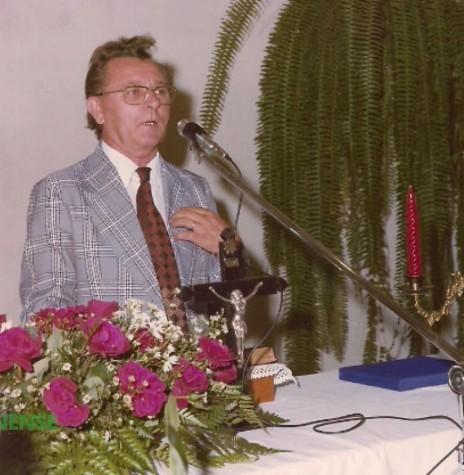 Pastor Jan Serfas foi o terceiro pastor da Igreja Evangélica Congregacional de Marechal Cândido Rondon.  Imagem: Acervo da família - FOTO 6 -