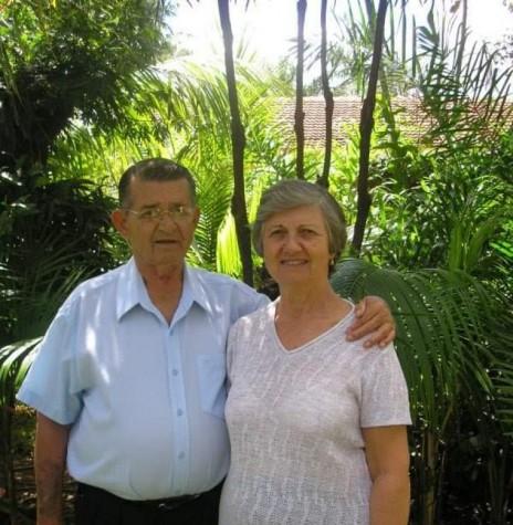 Professor Eduardo Mittelstedt com a esposa Ester . Imagem: Acervo da Família - FOTO 19 -