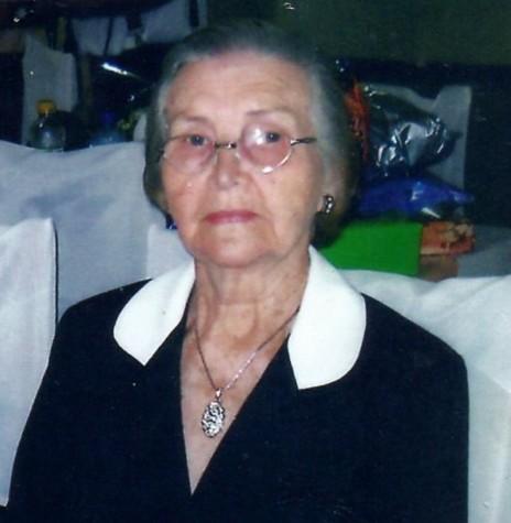 Hilda Rauber Witeck, falecida em 07 de abril de 2011,  foi pioneira da Linha São Cristóvão. Imagem: Acervo Izoldi Witeck Adams - FOTO 4 -