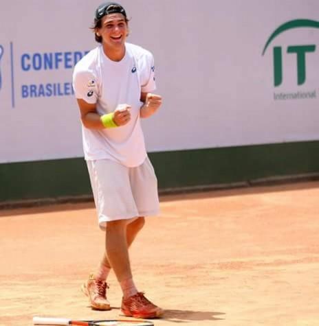 Tenista rondonense Thiago Wild vice-campeão do torneio 2017, de Antalya, Turquia.  Imagem: Acervo Marechal News - FOTO 5 -