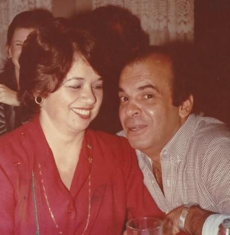 José Carlos Lins Santos e esposa Regina Maria (nascida Carrano), ele nomeado como primeiro Juiz de Direito da comarca de Marechal Cândido Rondon.  Imagem: Acervo Vera Carrano - FOTO 1 -
