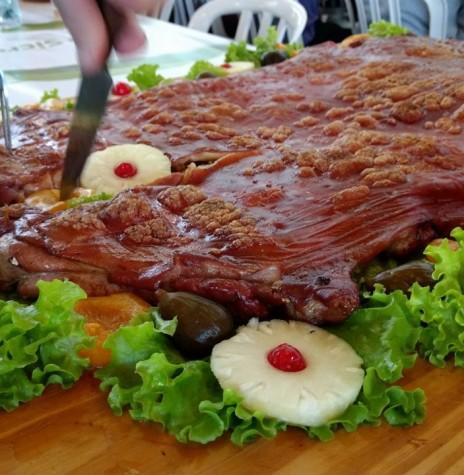 Um dos pratos apresentados na na Festa Leitão à Marechal 2017.  Imagem: Acervo jean Michel Laureth - FOTO 4 -
