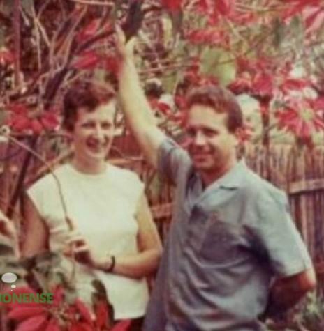 Pastor Hilmar Fürstenau e esposa Úrsula, segundo pastor da Primeira Igreja Batista de Marechal Cândido Rondon. Imagem: Acervo PIBRondon