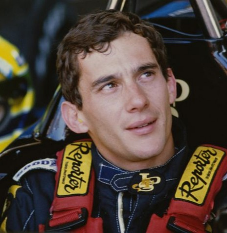 Piloto brasileiro Ayrton Senna morto em 1994.  Imagem: Acervo Fox Sports - FOTO 5 -