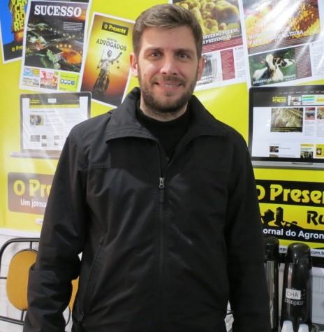 Empresário rondonense Leandro Krause coordenador do