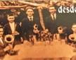 Banda Teifke em 1926.  Da esquerda à direita: Alfredo Litz, Athur Bonnes, Arthur Teifke, Alberto Teifke, Alfredo, Julio Schöne e Oto Lösch.