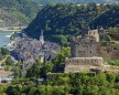 Cidade alemã de St. Goar, às margens do Médio Rio Reno.  Imagem: Acervo Rhine Tourismus