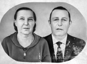 Casal Alma (nascida Hetzel) e Henrique  Guilherme Wayhs