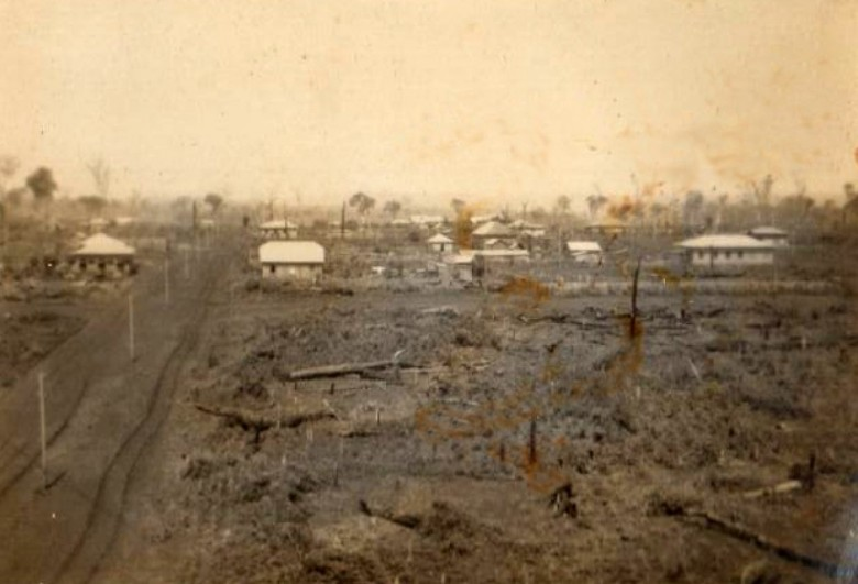 Vila de General Rondon  no começo da década de 1950