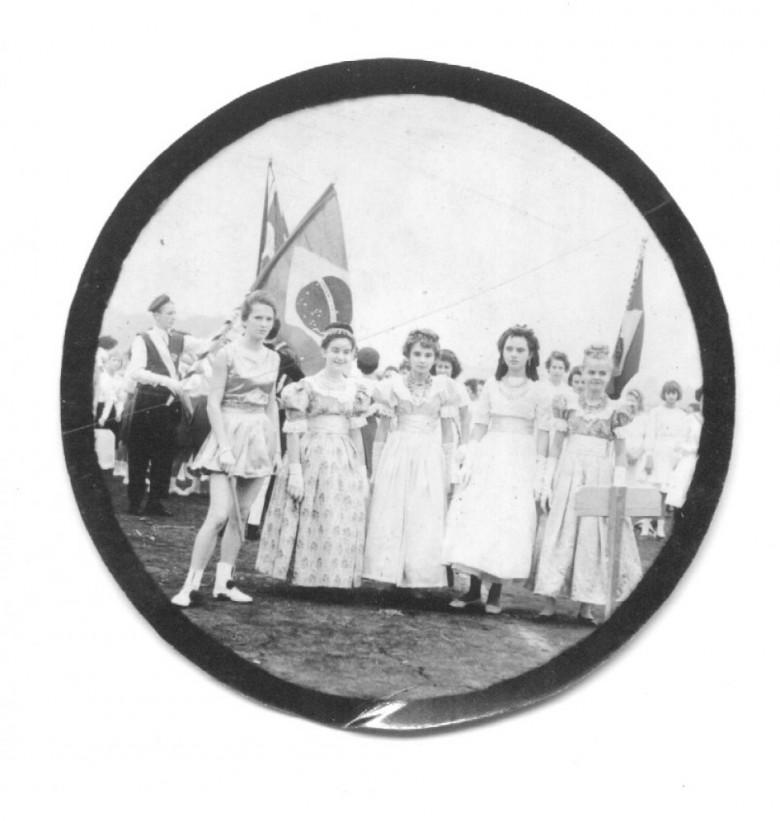 Desfile de 7 de Setembro do Colégio Rui Barbosa, em1965.