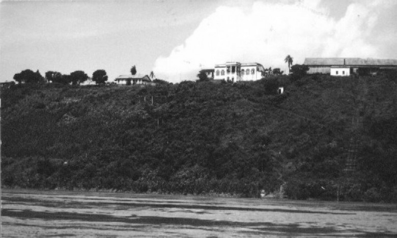 Porto Britânia - Base teleférico. 1982