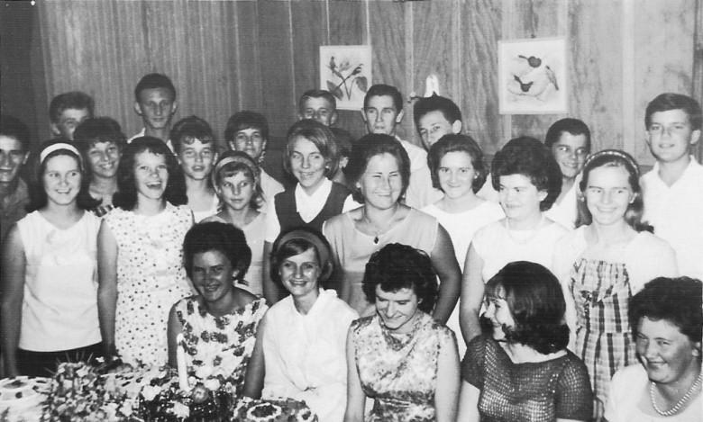 Aniversario de Edite Feiden Priesnitz, 24 de julho de 1966.