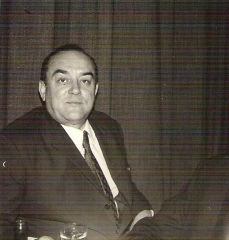 Médico Friedrich Rupprecht Seyboth, em foto de 1968.