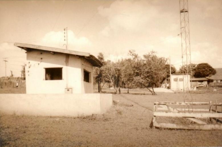 Outra imagem da cabine do transmissor da Rádio Difusora Rondon.