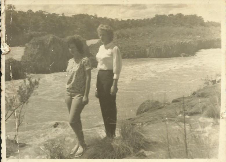 As irmãs pioneiras rondonenses Lore (e) e Nercy Koch.