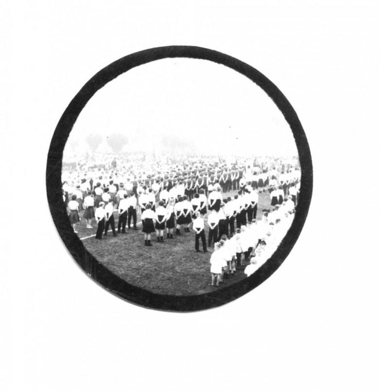 Outra vista do desfile de 7 de Setembro do Colégio Rui Barbosa, em 1965.