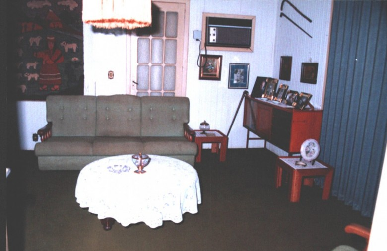 Casa da Família Seyboth - vista interna - sala de estar.