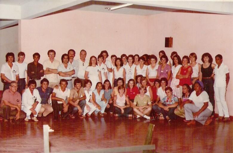 Funcionários Hospital Filadélfia. 1970