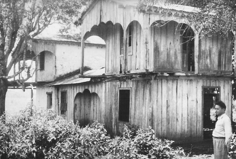 Casa da Fazenda Alica. 1950