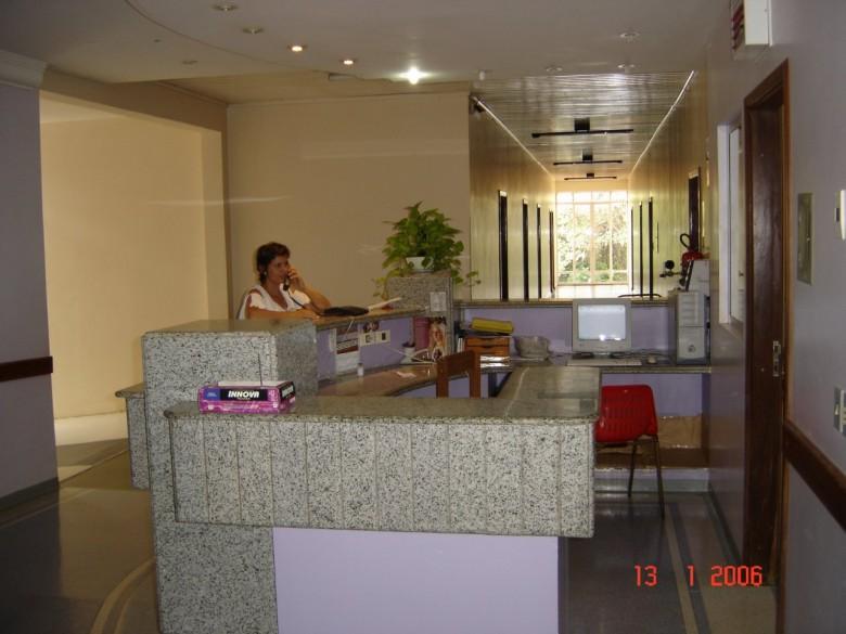 Posto de enfermagem Primeiro piso.