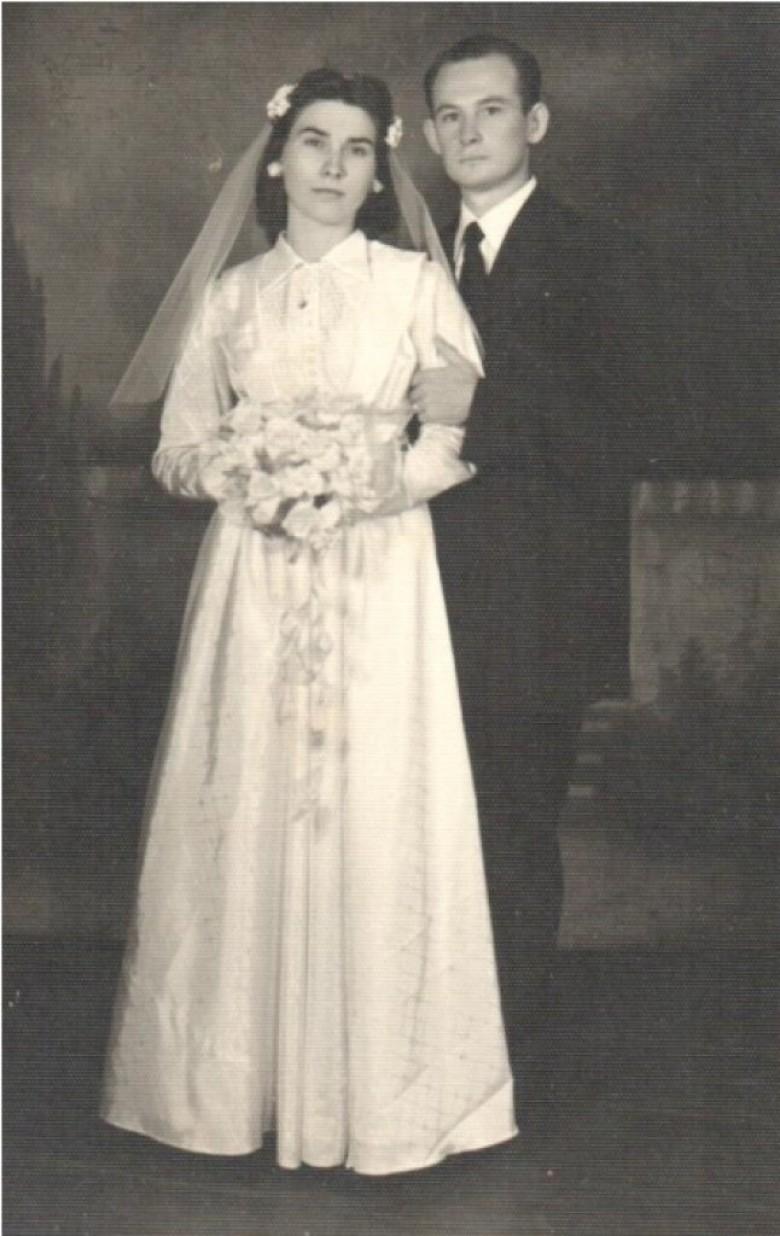 Norma Arndt e Eldor Egon Lamb (irmão de Arlindo Alberto Lamb).