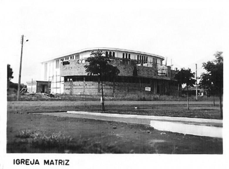 Igreja Matriz Católica, 1980.