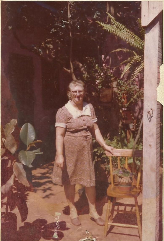 Pioneira Erna Schwingel Ritter que chegou a Marechal Cândido Rondon com o esposo Ivo Ritter e filhos em 1962.