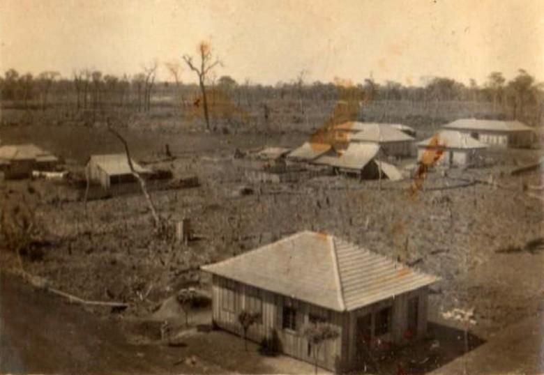 Outra vista da então vila de General Rondon na década de 1950.