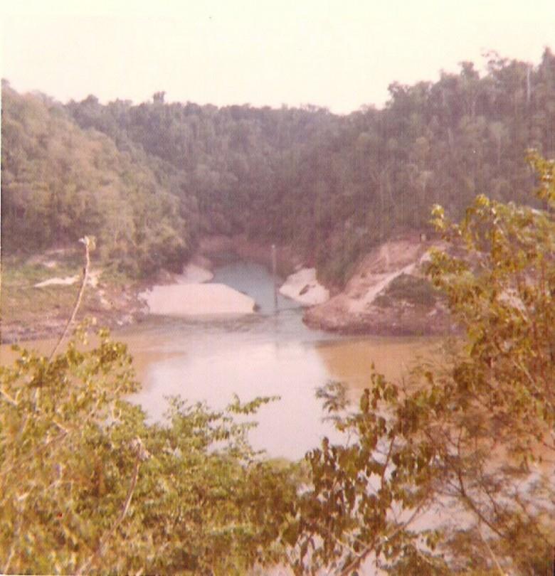 Rio Paraná, Poçuelo - Paraguai. 1977