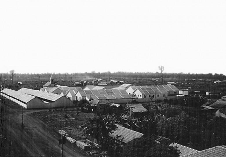 Edificações da Exposição Agropecuária de General Rondon, 1957.