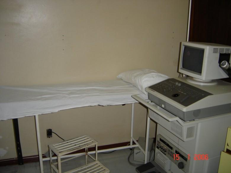 Ecocardiografo com Dopler Colorido. 2006.