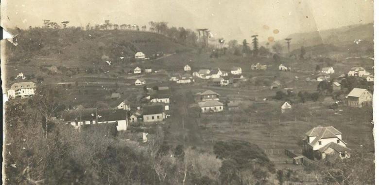Cidade Concórdia, SC, em 1939.