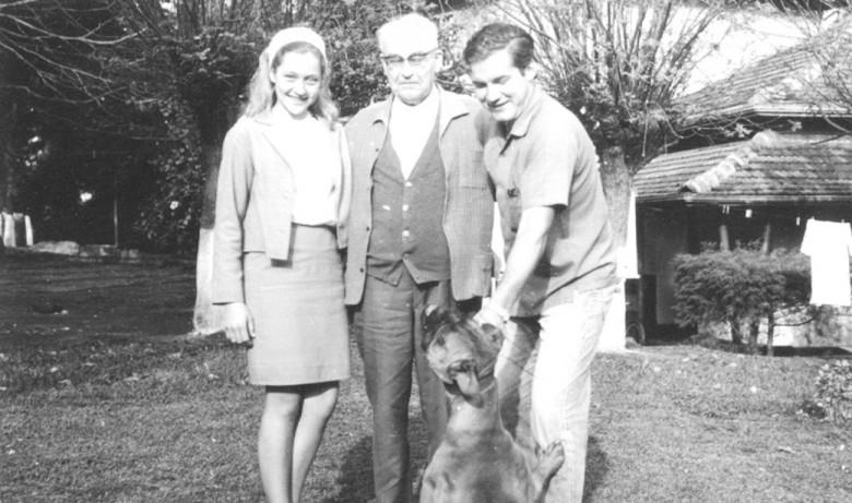 Clair Winter, Dietrich Klagges e Dr Hippi (Dietrich Rupprecht), em 1963.