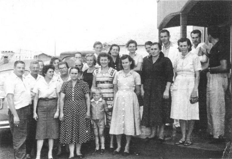 Ingrun Seyboth e amigas. 1956.