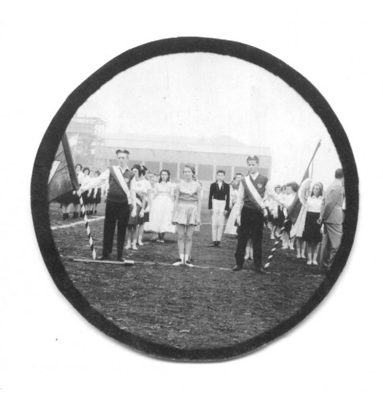 Outro detalhe  do Desfile de 7 de Setembro do Colégio Rui Barbosa, em 1965.