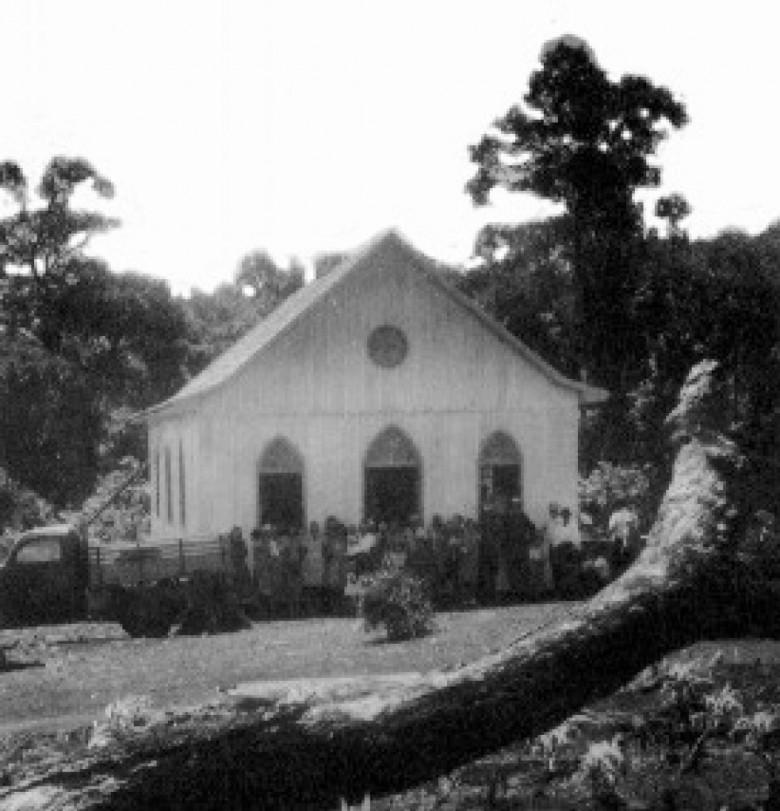 Igreja Evangélica Martin Luther. 1958