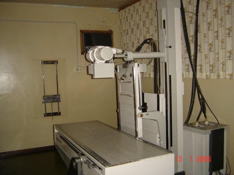 RX Germovex 350 mA. Hospital Rondon, 2006.