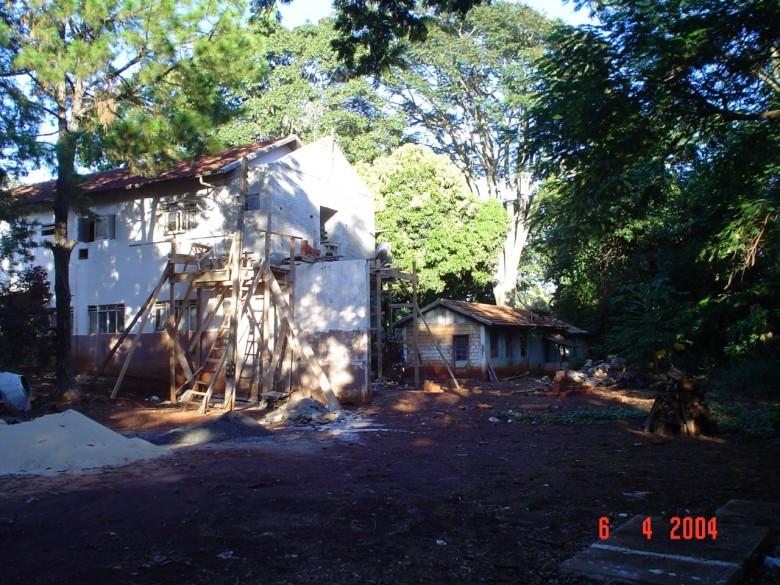 Reforma fachada externa. 2006.