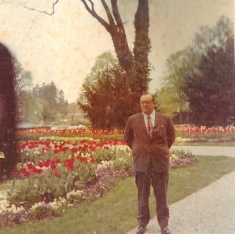 Dr. Friedrich Rupprecht Seyboth, em 1968, na Alemanha.