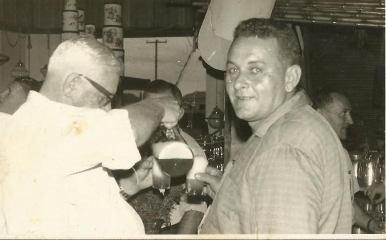 Pioneiro Ivo Koch, á direita.