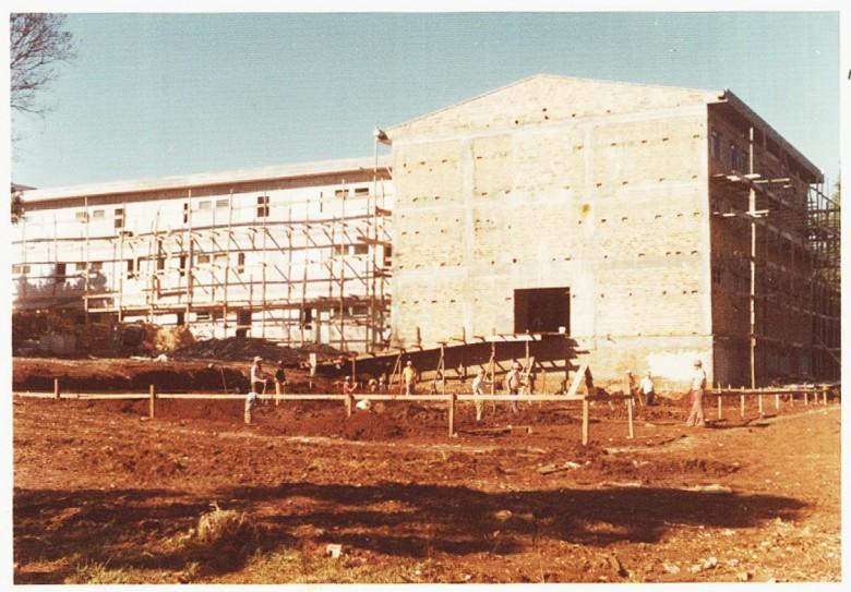 Mais um vista da 4ª etapa da ampliação do Hospital e Maternidade Filadélfia, em 1977.