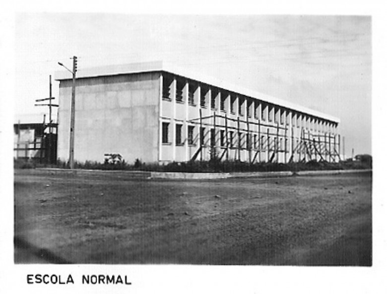 Escola Normal, 1980.