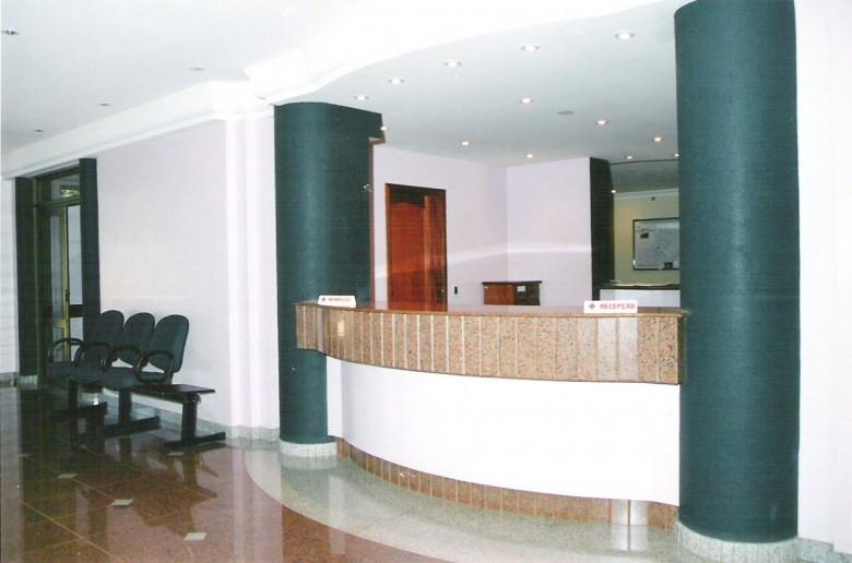 Recepção do Hospital Marechal Rondon, em 2006.