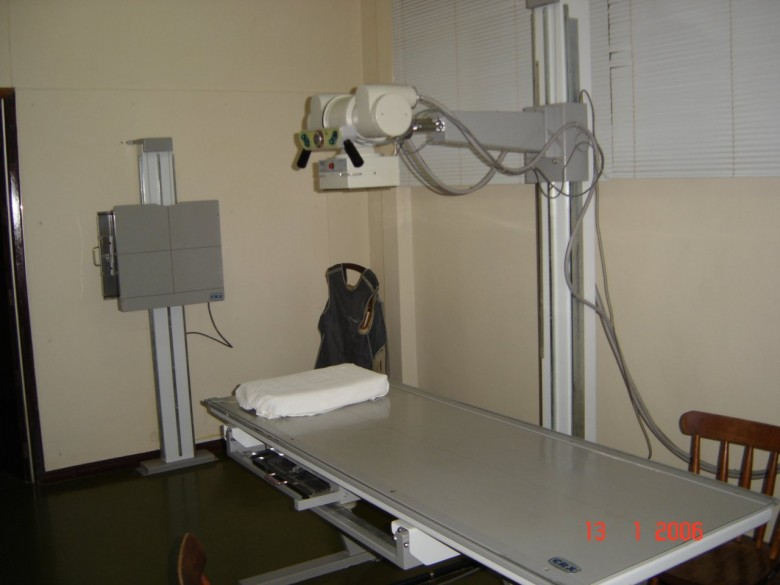 RX CRx 1000mA. Hospital Marechal Rondon. 2006.