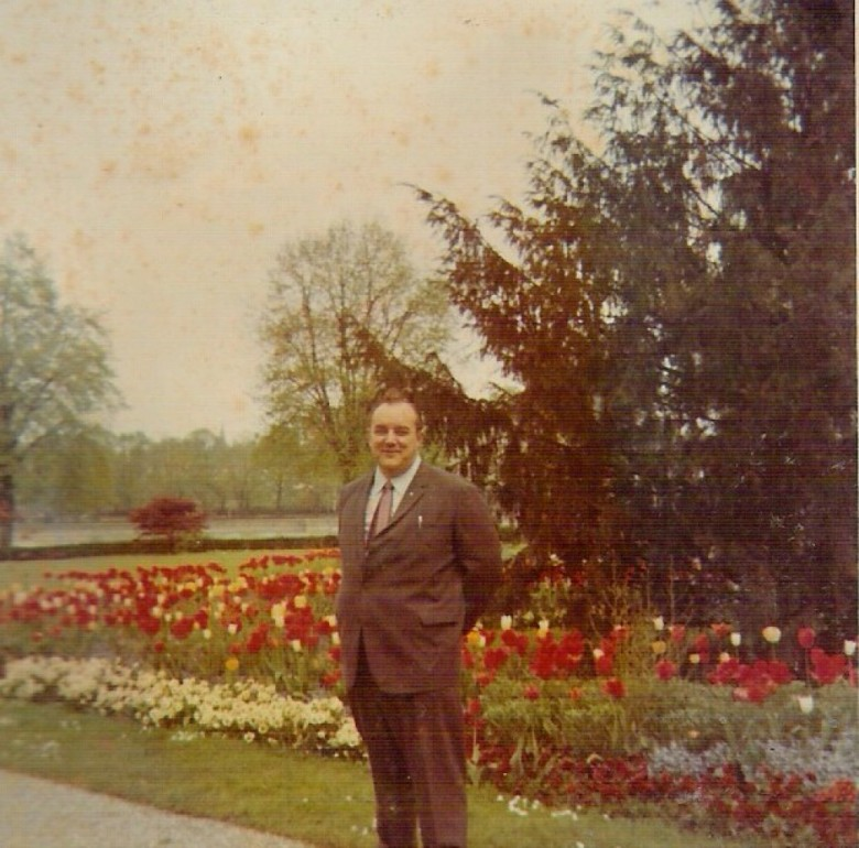 Dr. Seyboth, em1968. na Alemanha.