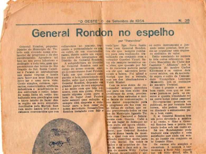 Edição do jornal