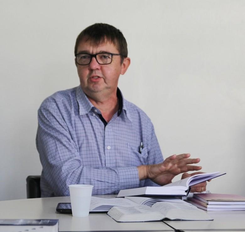 Pastor luterano David Karnopp